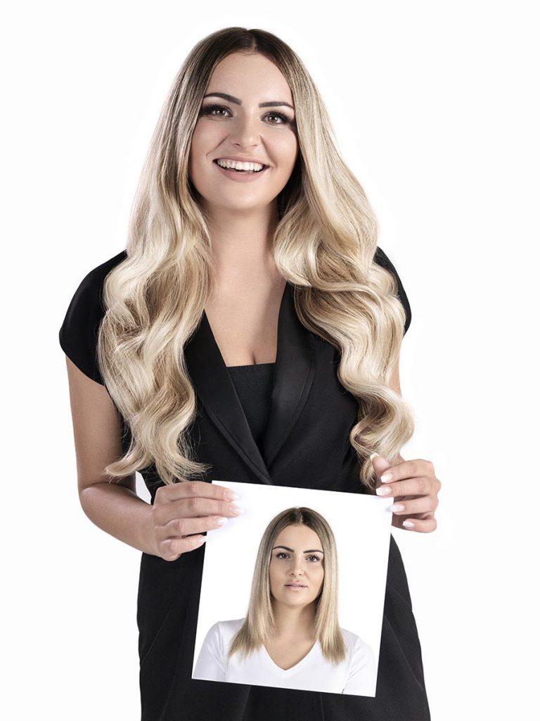 Extensiones Laserbeamer NANO de Hairdreams